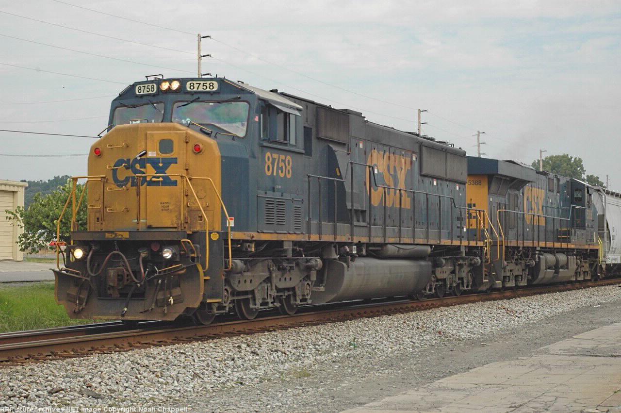 CSX 8758 and CSX 5388