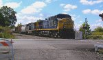 CSX 105 with New YN2 Paint