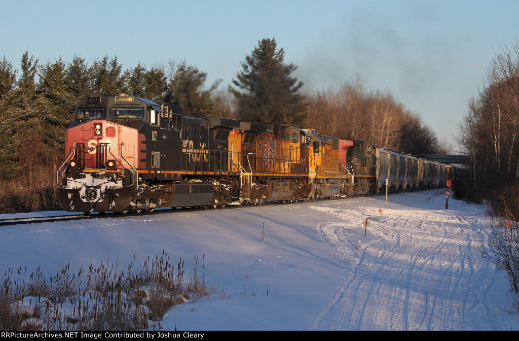 SPs and an SD40N on MADMCS