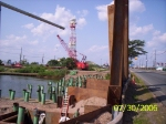 RCC building new rail bridge