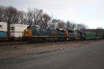 q 703 sb garbage train 7:45 am  (pic1)
