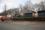 q 703 sb garbage train 7:45 am  (pic2)