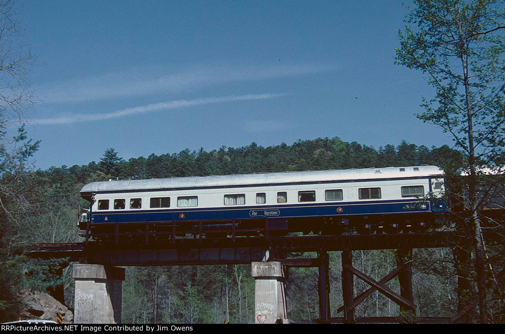 The Etowah Copperhill Rail Excursion, 1986, southbound.