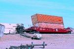 Arizona & California derailed well car ARZC #100017