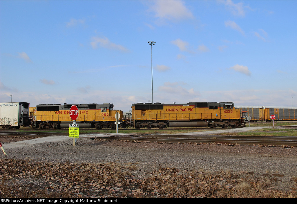 Odd Union Pacific Power For A Freight