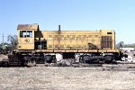 Central California Traction Alco S1 #40 in back lot.