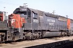 Southern Pacific #9505 ex EMD SD45X demo #4203