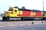 Atchison Topeka & Santa Fe SD45u #5800