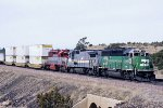 BN 3118 east with LMX & EMDX