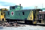 BN ex Northern Pacific caboose #11336