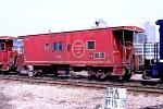 Missouri Pacific caboose #13687