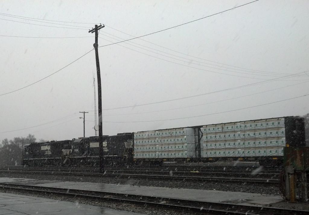 Early season snow