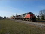 CN 2143 Leading the Q195 in Manteno