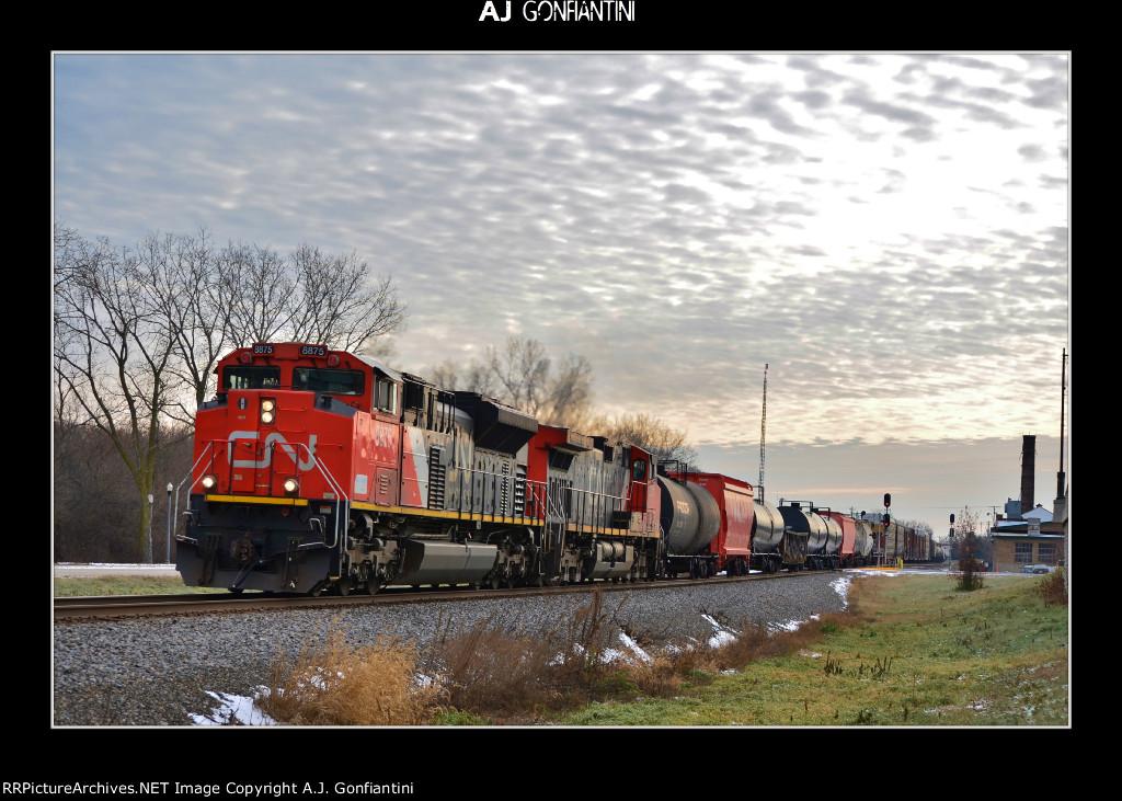 CN 8875 & 2703 north