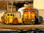 BNSF 5426 and CR SL 3015