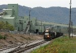 NS 5288 going by the coal loader