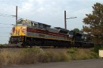 "NS SD70ACe 1074 ""Lackawanna"" leads 17G"