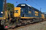 CSX SD40-2 8815 trails on Q418-15