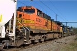 BNSF C44-9W 4305 trails on Q418-15