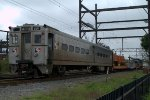 SEPTA Camp Car 601 on Wire Train