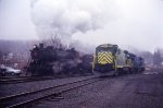 425 arriving at Cressona Station