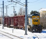 CSX Local waits to head back to Readville