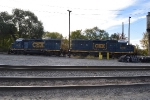 Two Geeps sitting waiting for their next moves.