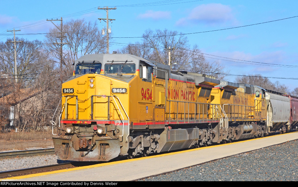 UP  9454,   CP's   Tomah   Sub.