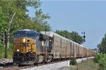 CSXT 781 On CSX Q 268 Northbound