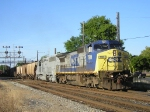 CSXT 7819 & HLCX 6421 The Gray Ghost On CSX Q 365 Southbound