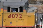 UP 4072 (Close up cab markings)