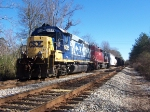 CSX A746 sits on the siding in Opelika waiting for a ride.