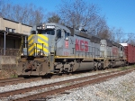 Not so common power leads NS Local A41 out of Opelika