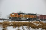 BNSF 8816 Has the duty of freezing today as Dpu.