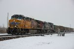 A little snow and some trains great mixture.