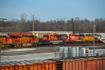 CP 5902 and other's sit around the Trra Madison yard!!