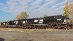 NS H53 backing into SK Yard