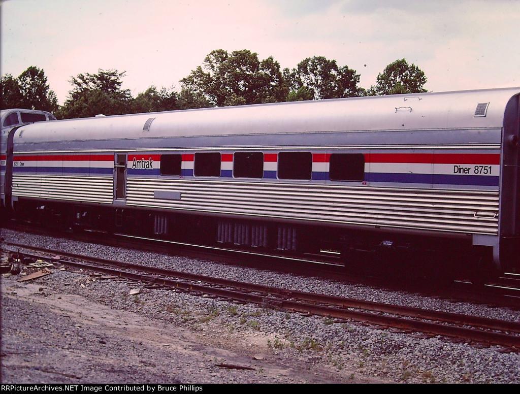 Amtrak 8751 - Diner