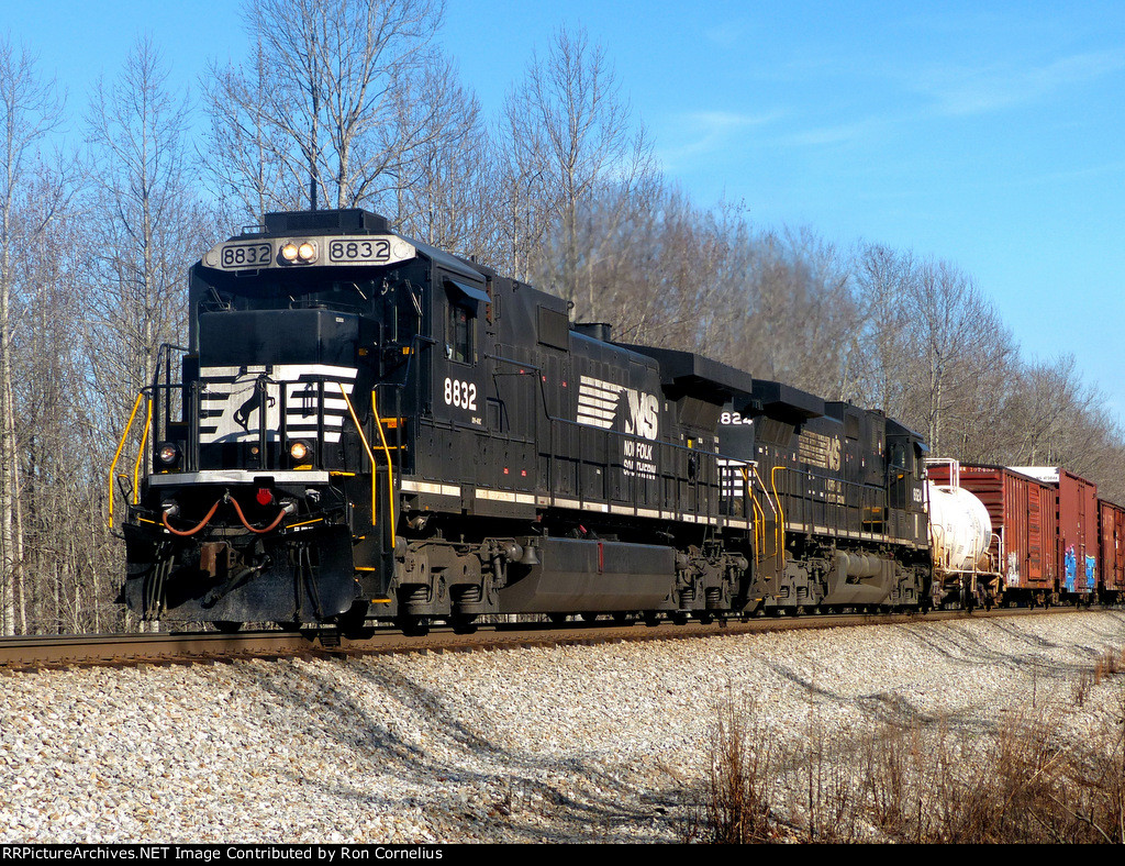 NS 8832 leading NS 8824