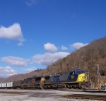 CSX 468 Peach Creek WV