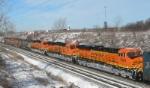BNSF 5896 on CSX Q381-27