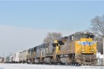 UP 8575 On CSX Q 501 Eastbound