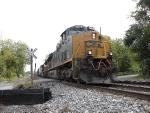 Westbound CSX freight.