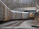 As Q217 passed I heard another train coming up behind me.