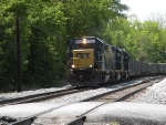 CSX local D789 to the PEPCO plant at Dickerson with three units.