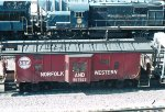 NW 557523 and N&W Engine 2865