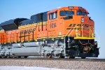 BNSF 9014 UP CLOSE Shot as she Heads eastbound with a Loaded Coal Train towards BNSF Lincoln.