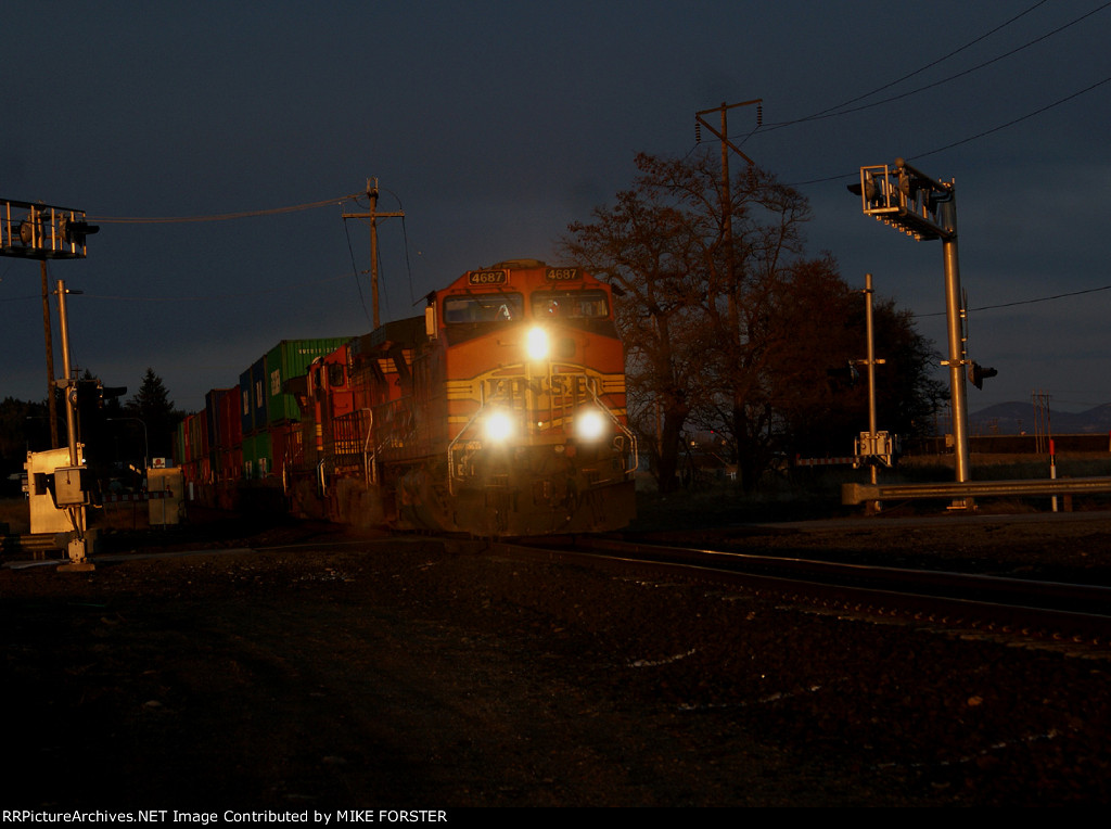 BNSF  Spokane Valley