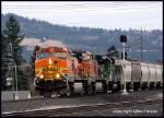 BNSF Freight heading east to the Parkwater yards