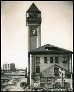 GN station in downtown Spokane